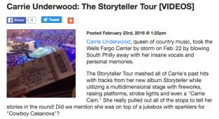 Carrie Underwood: The Storyteller Tour