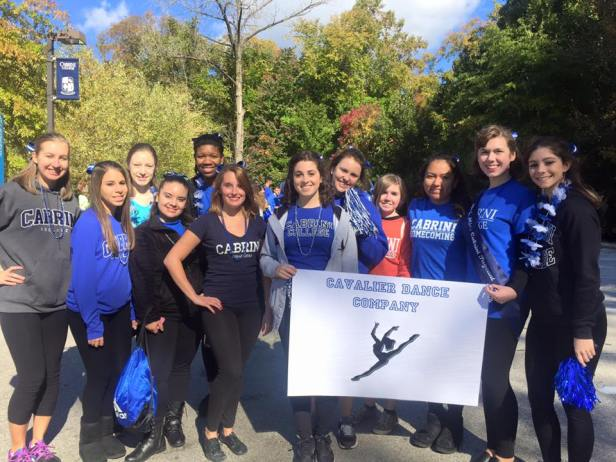 The Cavalier Dance Company is still succeeding after I graduated! This was after their performance at the 2015 Homecoming Parade.